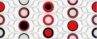 Domenico red circles inserto 20х50