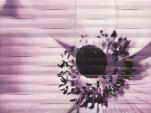 wall decoration Maxima violet 2 89,8x67,3
