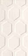 wall tile All in white - white 1 structure 29,8x59,8