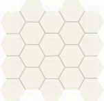wall mosaic All in white - white 24,8x30,6