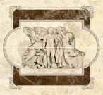 Emperador декор-панно коричневий 46x50