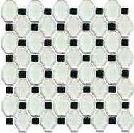 Secret mozaika szklana Bianco 29,8x29,8