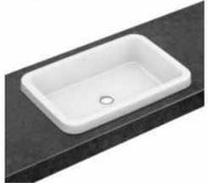 Architectura washbasin 61,5x41,5 for installation on the table