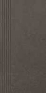 Intero Nero stopnica 29,8 x 59,8 satyna