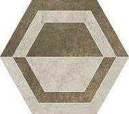 Scratch beige heksagon B 260x298