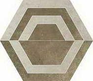 Scratch beige heksagon C 260x298