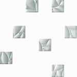 Esten mozaika mix bianco silver 29,8x29,8