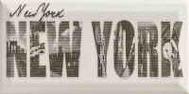 Forcados Grys New York dekor 9,8x19,8