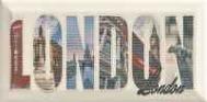 Forcados Beige London dekor 9,8x19,8