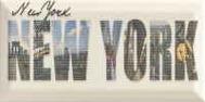 Forcados Beige New York dekor 9,8x19,8