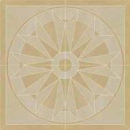 Arkesia Beige rozeta 89,6x89,6 cm