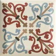Forcados Beige dekor A 9,8x9,8