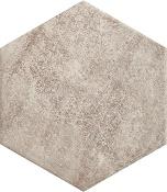 Scandiano Ochra hexagon 26x26