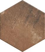 Scandiano Rosso hexagon 26x26