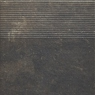 Scandiano Brown stopnica Prosta Str 30x30