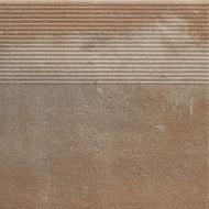 Scandiano Rosso stopnica Prosta Str 30x30