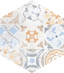 Flamenco L-LCD-FLM12 28x33 cm (hexagon)