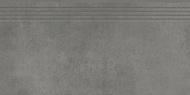 Concrete stopnica graphite