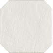 Modern bianco octagon 19,8x19,8