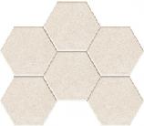 Mozaika ścienna Tecido grey 28,9x22,1