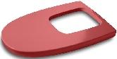 Khroma lid for bidet red