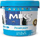 Фарба акрилова фасадна 14 кг Miks color